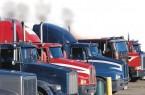 Idling Truck