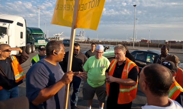 Oakland Port Protest