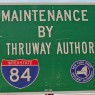State Maintenance Sign