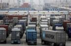 Trucks at Port