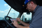 Driver With Logbook