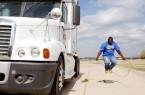 Trucker Jumping Rope