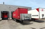 Trucks At Dock