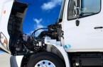 Semi Truck Engine