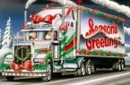 Christmas Semi Truck