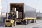 Fork Lift Loading Truck