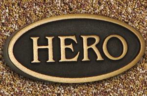 Hero Plaque