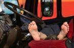 Driver Sleeping