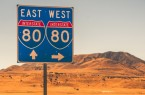 Interstate 80 Sign