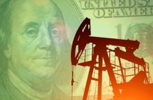 Oil Derrick Dollar Bil